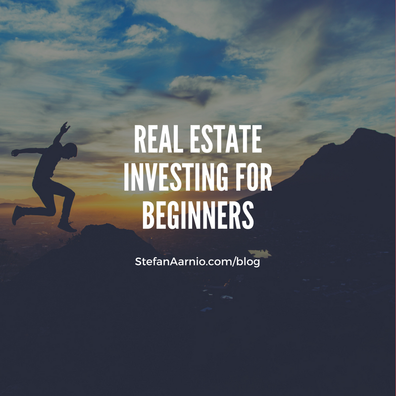 real estate for beginners by stefan aarnio