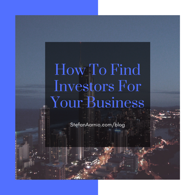 How to Find Investors For My Business