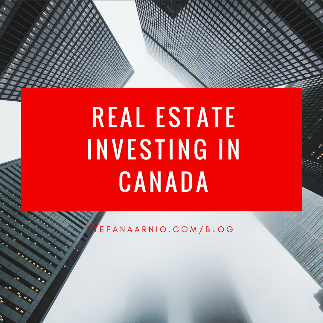 Real Estate Investing in Canada by Stefan Aarnio