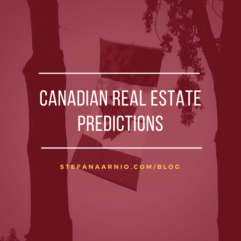 Canadian Real Estate Predictions