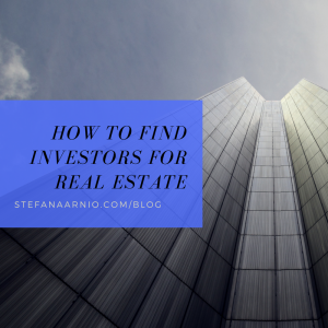 find real estate investors