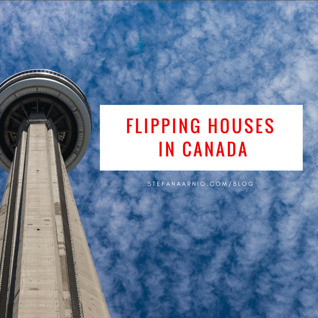 Flipping Houses in Canada