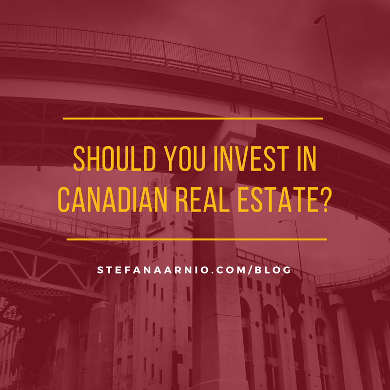 should i invest in canadian real estate