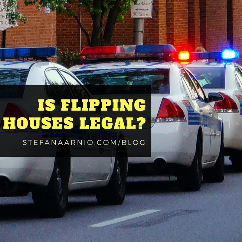 Is Flipping Houses Legal?