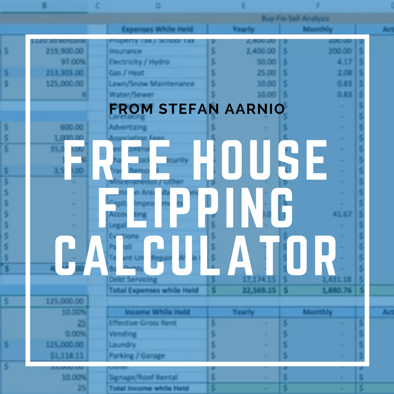 house flipping calculator