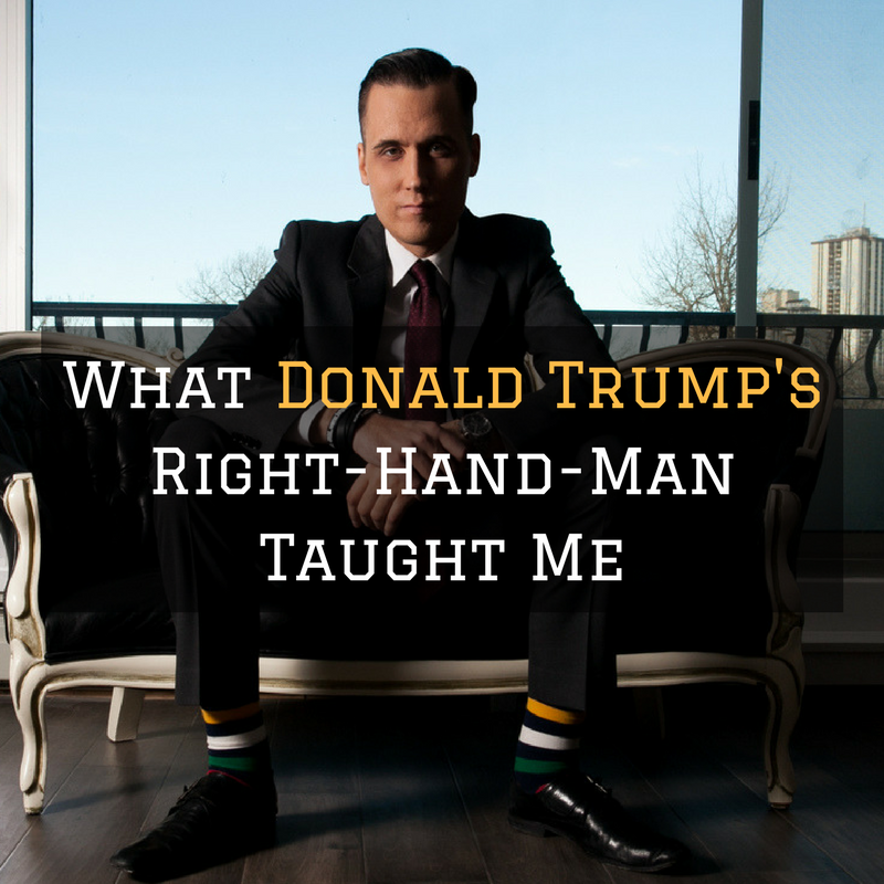 What Donald Trump's Right-Hand-Man Taught Me