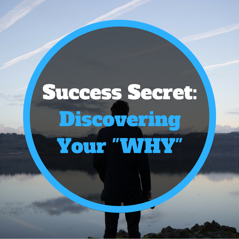 Secret To Success – Finding Your WHY