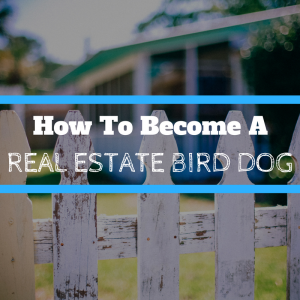 real estate bird dogging