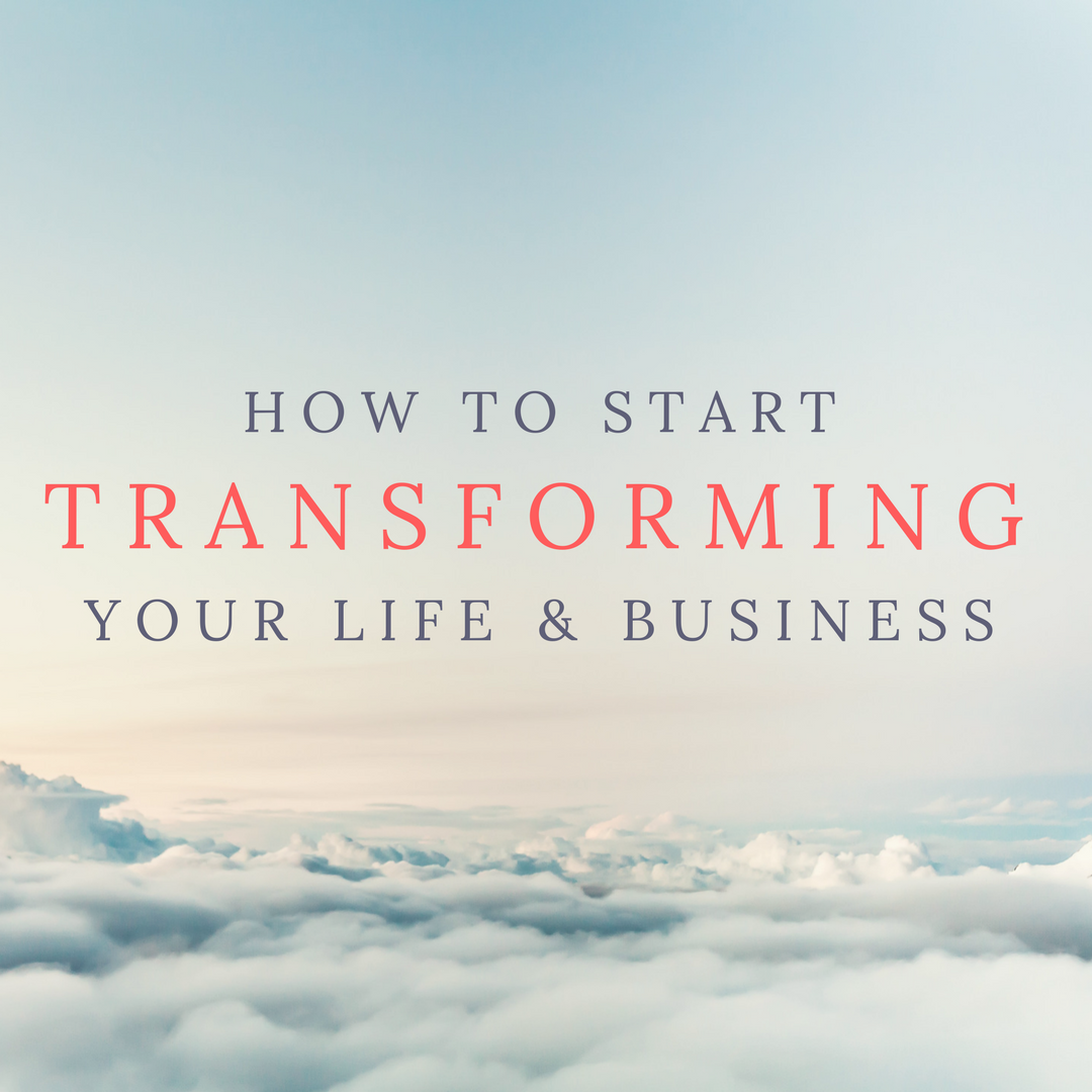 create transformation in my life
