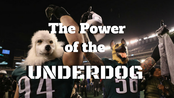 how to be an underdog