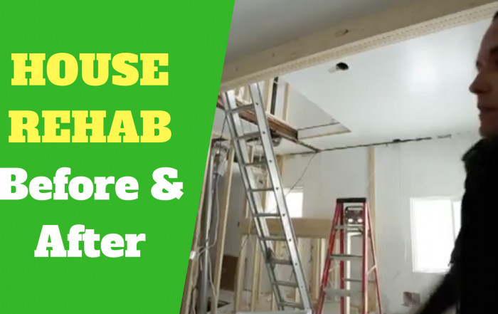 house rehab before and after video