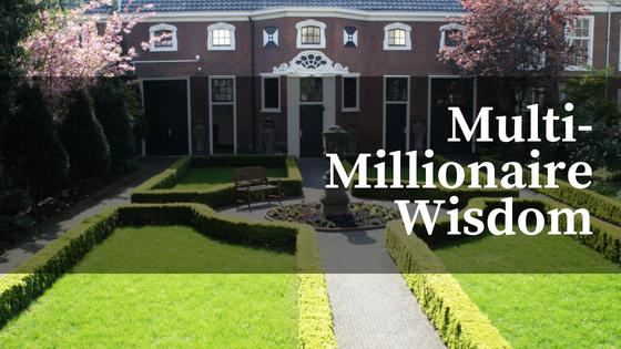 millionaire advice