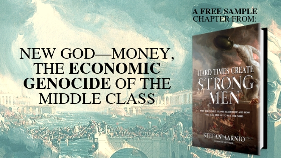 NEW GOD—MONEY, THE ECONOMIC GENOCIDE OF THE MIDDLE CLASS