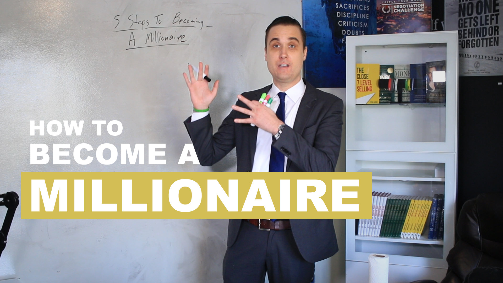 5 Steps To Becoming A Millionaire