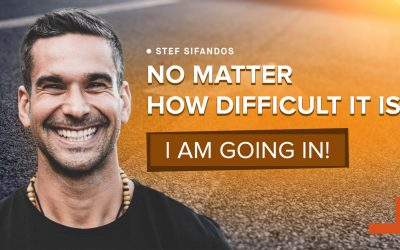 #104 Quitting who You've been to reveal who You're meant to become with STEFANOS SIFANDOS